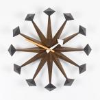 置時計 Vitraヴィトラ Polygon Clock(ポリゴン クロック)/ウォルナット