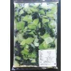 【冷凍野菜】山口県産チンゲン菜1kg(3センチカット)ブロックタイプ【学校給食】【国産】