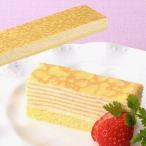 【学校給食】【冷凍食品】【フレシュール】フリーカットケーキ ミルクレープ36センチ