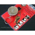 カギ、ナイフ、ライト等の置き忘れ防止に! キーバック #5 シルバー(チェーン)