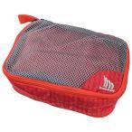 Mountain.DAX(マウンテンダックス) メッシュキャリー XS/レッド DT-00111 スポーツ アウトドア ポーチ、小物バッグ 化粧品、洗顔用品バッグ アウトドアギア