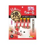 いなば CIAO 焼かつお ちゅ〜る(ちゅーる)タイプ 11歳からのかつおミックス味 (キャットフード・猫のエサ) 12g×10本