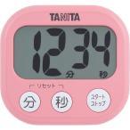 タニタ デジタルタイマー でか見えタイマー フランボワーズピンク TD-384-PK