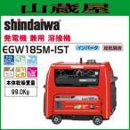 新ダイワ ガソリンエンジン発電機兼用溶接機 EGW185M-IST 単相3線インバーター発電付