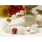 パワーストーン ブレスレット サードオニキス 水晶 天然石 メンズ レディース