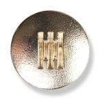ボタン 高品質 ミラノ製ブレザーボタン-20mm ゴールド (ML17)