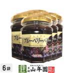プレミアム ブルーベリーバター 200g×6個 希少糖入り 藍苺 ブルーベリージャム BLUEBERRY BUTTER Made in Japan