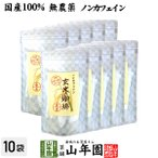 国産 無添加 100% 玄米珈琲 スティック 2g×12本×10袋 特A北海道産ななつぼし ノンカフェイン