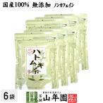 健康茶 ハトムギ茶 7g×24パック×6袋セット ティーパック 国産 鳥取県産はと麦茶 はとむぎノンカフェインティーバッグ 送料無料