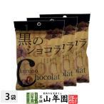黒のショコラ コーヒー味 40g×3袋セット(120g) 沖縄県産黒糖使用 送料無料ギフト