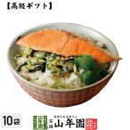 高級ギフト お茶漬けの素 鮭茶漬け×10袋セット 具材 丸ごと 送料無料