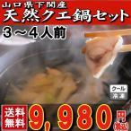 クエ_くえ_九会 山口県下関産天然クエ鍋セット3〜4人前(450g)