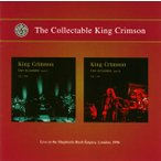 キング・クリムゾン/ライヴ・イン・ロンドン〜ライヴ・アット・ザ・シェパーズ・ブッシュ・エンパイアー・ロンドン,1996
