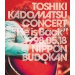 """角松敏生/TOSHIKI KADOMATSU CONCERT""""He is Back""""1998.05.18 日本武道館〈2枚組〉(DVD2枚組)"""