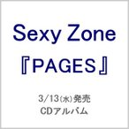 Sexy Zone/PAGES【通常盤(2CD)】