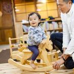 木のおもちゃ ハイヨーもくば 木馬 ロッキング 乗り物 バランス ゆらゆら 手作り 木製 日本製 安全 知育 赤ちゃん 男の子 女の子 誕生日 出産祝い 1歳 2歳 3歳