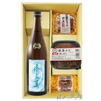 送料無料 日本酒 おつまみセット 愛宕の松 ( あたごのまつ ) 特別純米 火入れ 720ml + 醸し漬 3種セット 要冷蔵 ギフト プレゼント