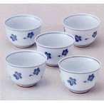 白磁湯呑茶碗五客セット