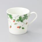 【 野イチゴ 軽量マグカップ レッド 】日本製 美濃焼 食器 陶器 コップ カップ マグ イチゴ 手付き