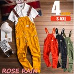 メンズ ボトムス オーバーオール ファッション カジュアル パンツ 4color サロペット ヒップホップスタイル 人気商品 カッコいい ロンパース サロペットパンツ