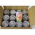 リリー缶詰 フルーツみつ豆  12個入りあすつく