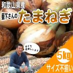 たまねぎ 和歌山県産 特別栽培  薮下さんの 訳あり玉葱 5kg サイズ不揃い、ご自宅用