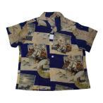 大和鎧008|戦争気運の高まる昭和初期のこども浴衣のアロハシャツ!