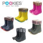キッズ スノーブーツ 15.0-24.0 プーキーズ POOKIES スノーシューズ PK-EB510N ジュニア 男の子 女の子 子ども用 長靴