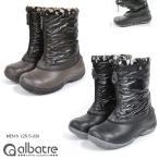 スノーブーツ メンズ レディス albatre アルバートル  AL-WP1710 雪靴 メンズ レディス 保温 防水