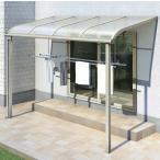 テラス屋根 ヴェクター アール型・柱標準 関東間2.0間7尺 600N 熱線遮断仕様 YKK AP アルミテラス