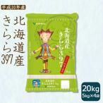 米 20kg 5kg×4袋 お米 きらら397 白米 北海道産 うるち米 精白米 クーポン配布中
