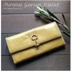 プリマ ギャルソン ウォレット 濱野皮革工芸製 長財布 名私香プレゼント 銀座大和屋