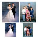 【送料無料】写真からの油絵制作人物(肖像画) 1〜2人【F12号】