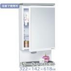 ミラーキャビネット TW-T55T 機能的 棚付き 東プレ 洗面所 浴室 小物 収納 キャビネット 壁面取付 洗面所 脱衣所 浴室使用可能