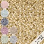 生地 ブロード 花柄 綿 100% 柄 布 / くすみフラワー KTS6623 / 50cm単位
