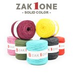 T����ĥ䡼�� �� 100m YANAGIYARN(��ʥ��䡼��) ZAK ONE ���å���� SOLID COLOR 4 �������ꥸ�ʥ�