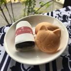和菓子 最中 ねこ最中とはんかちセット 猫柄ガーゼはんかち 父の日