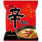 韓国物語で買える「韓国版オリジナル 農心 辛ラーメン 120g」の画像です。価格は82円になります。