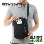 ショッピングショルダーバッグ ショルダーバッグ メンズ B5 swisswin ipad バッグ メンズ ボディバッグ ショルダーバッグ