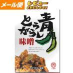 【ゆうパケット】【八百秀】青とうがらし味噌  箱(袋入り) 250g【食べる調味料】 【お味噌】