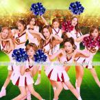 チアガール コスプレ 4サイズ 少女時代 ダンス 応援団 コスプレ