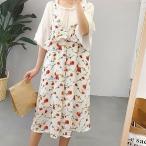 ショッピングキャミソール 花柄ファッションキャミワンピース