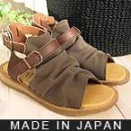 ショッピングブーツサンダル (10%OFFセール) ブーツサンダル ブーサン/靴擦れなし キャンバス生地  ナチュラル カジュアル/S0480 (SS〜LL)(A)/AF/