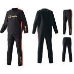 がまかつ(Gamakatsu) プルオーバーピステスーツ ブラック  GM3597 ブラック