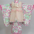 七五三 3歳 3才 三歳 三才 女児 女の子 被布着物フルセット 祝着 MezzoPiano メゾピアノ 新品 (株)安田屋 j345834583