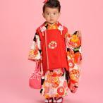 七五三 3歳 3才 三才 三歳 女児 女の子 祝着被布着物フルセット 式部浪漫 新品 (株)安田屋 c673788273