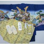 七五三 5歳 5才 五歳 五才 男の子 男児 祝着 羽織着物袴フルセット 紋袴 新品 (株)安田屋 362829009