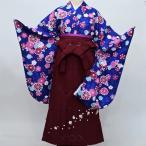 二尺袖 着物袴 フルセット 百花斉放 着物丈は着付けし易いショート丈 新品 (株)安田屋h297951685