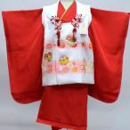 七五三 3歳 3才 三才 三歳 女児 女の子 正絹 祝着 被布着物フルセット 日本製 手染め 式部浪漫 新品 (株)安田屋 c640038379