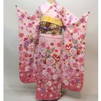 振袖 着物単品 合繊 仕立て上がり ピンク 成人式 結納 結婚式 新品(株)安田屋 g336951282